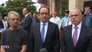 """Prêtre égorgé : Hollande met en cause """"deux terroristes se réclamant de Daech"""""""