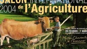 salon agriculture 2004 affiche