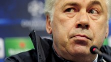 L&#039;entraneur du PSG Carlo Ancelotti.