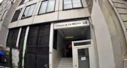 La clinique de la Muette, à Paris.