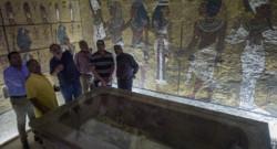 La tombe du pharaon Toutankhamon à Louxor