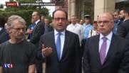 """Seine-Maritime : """"Nous devons mener la guerre contre Daech par tous les moyens"""", déclare Hollande"""