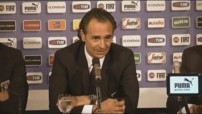 Prandelli : &quot;Aucune polmique, la premire fois&quot;