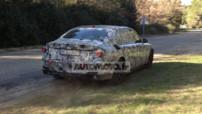 Prototype de test de la future génération de BMW Serie 7 2015, surprise dans le sud de la France en février 2014