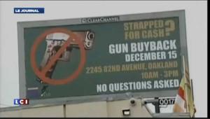 Tuerie de Newtown : pour pacifier leur communauté, ils rachètent les armes des particuliers
