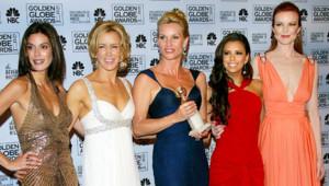 Desperate Housewives Marcia Cross Nicolette Sheridan Felicity Huffman Teri Hatcher Eva Longoria