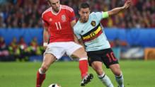Gareth Bale Eden Hazard Belgique Pays de Galles Euro
