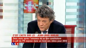 """Gestion de la crise: Borloo salue la """"grande expérience"""" de Sarkozy"""