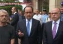 """Prêtre assassiné en Seine-Maritime : """"La menace reste élevée"""", le discours d'Hollande après le drame"""