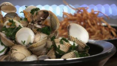 Coques marini res et paille de c leri rave petits plats en equilibre mytf1 - Toutes les recettes de petit plat en equilibre ...