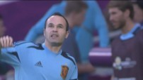 Iniesta meilleur joueur de l&#039;Euro