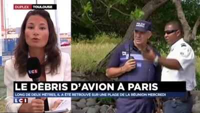 Le débris d'avion est en route pour Toulouse
