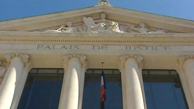 Le palais de Justice de Nice/TF1