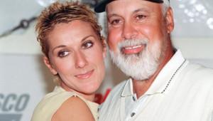 Céline Dion et René Angélil en 2000