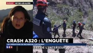 Crash de l'A320 : Retrouver les corps et les effets personnels, un travail de fourmi pour les enquêteurs