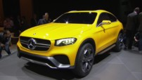 Mercedes-Benz GLC Coupé Concept Salon Shanghai 2015