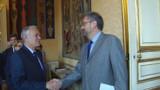 Première rencontre entre Jean-Marc Ayrault et les partenaires sociaux