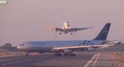 Collision évitée entre un Boeing et un Airbus à l'aéroport de Barcelone.