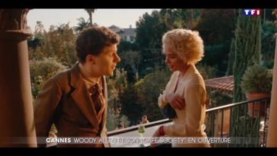 """Festival de Cannes : """"Café Society"""" le dernier film de Woody Allen ouvre le bal"""