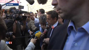 """Images de la tuerie : Sarkozy salue la """"décision raisonnable"""" d'Al-Jazeera"""