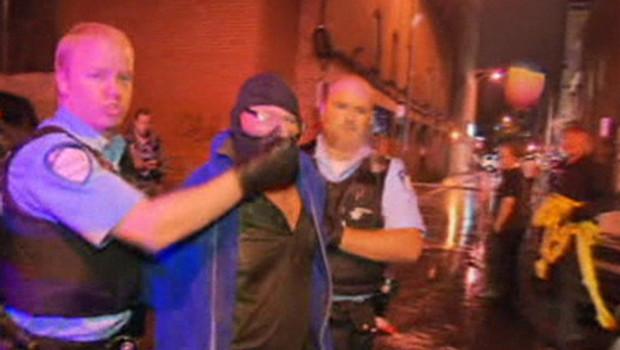 Le suspect de la fusillade au québec, le 5 septembre 2012.