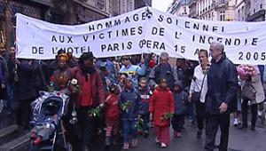 marche hommage victimes hôtel Paris-Opéra