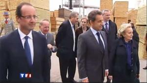 Sarkozy sur les terres des Chirac... et de Hollande