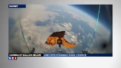 ZAPNET - Un selfie (et une côte d'agneau) dans l'espace !