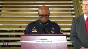 """Fusillade de Dallas : """"Le suspect voulait tuer des policiers blancs"""""""