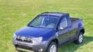 Un des Dacia Duster Pick-up conçu en 2014 pour l'entreprise OVM Petrom en Roumanie