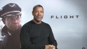 """Denzel Washington, en interview pour """"Flight"""""""