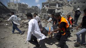 gaza évacuation des victimes