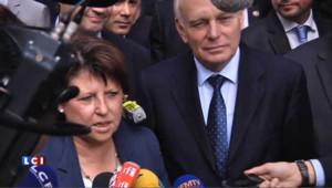 Martine Aubry et Jean-Marc Ayrault en juillet 2012