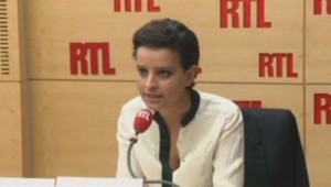 Najat Vallaud-Belckacem sur RTL