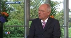 """Wolfgang Schäuble, ministre des Finances allemand : """"Se concentrer à augmenter la croissance"""""""