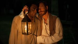 Chiwetel Ejiofor et Michael Fassbender dans le film 12 Years a Slave