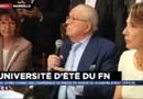 """Jean-Marie Le Pen souhaite à sa fille de """"retrouver le bon sens"""""""