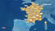 La météo du jeudi 26 mai : des averses et orages attendus dans le centre du pays