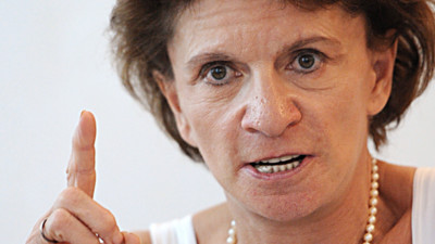 La ministre charge des Personnes ges, Michle Delaunay, le 17 aot 2012