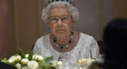 La reine Elizabeth II à Malte le 27 novembre 2015