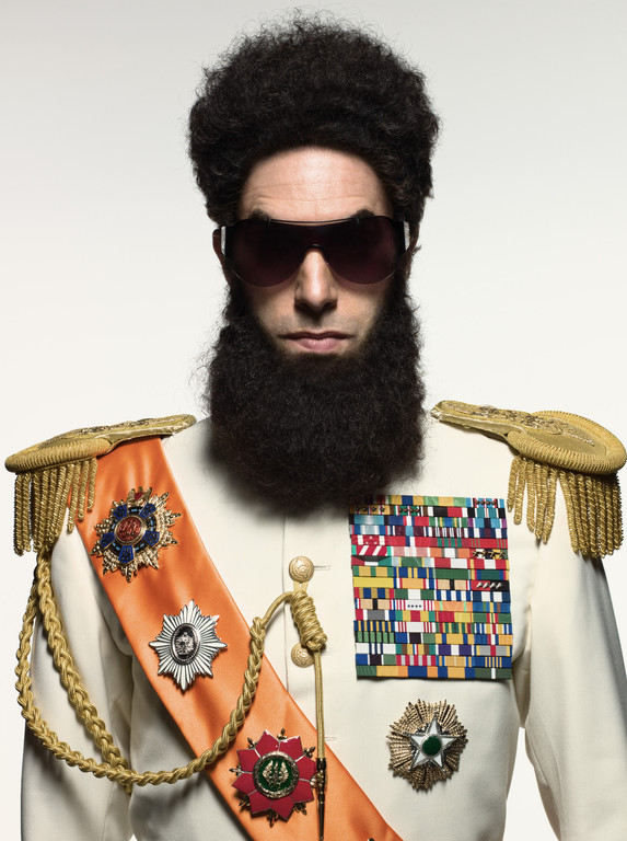 Sacha Baron Cohen dans le film The Dictator de Larry Charles