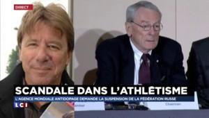 """Scandale dans l'athlétisme : """"Si on veut éradiquer le dopage, ça revient à mettre un terme au spectacle"""""""