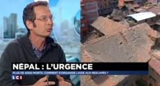 """Séisme au Népal : """"Non, on ne peut pas prévoir un tremblement de terre"""""""