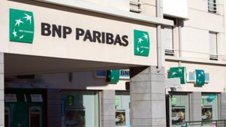Une agence bancaire BNP Paribas