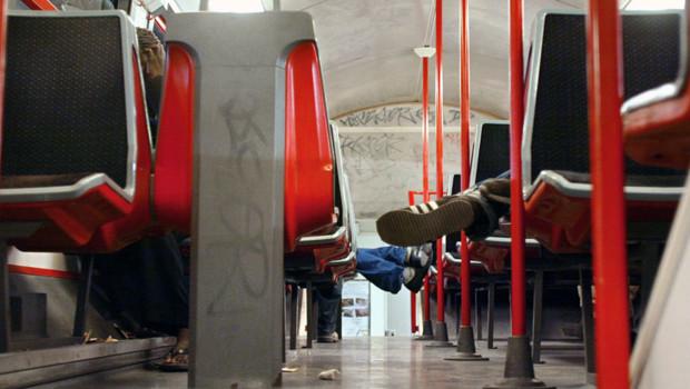 Une rame du RER D/Image d'archives