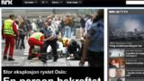 """Norvège : """"des morts et des blessés"""" dans un attentat à Oslo"""