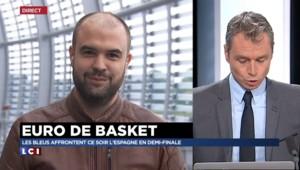 EuroBasket : des Bleus détendus mais concentrés avant France-Espagne