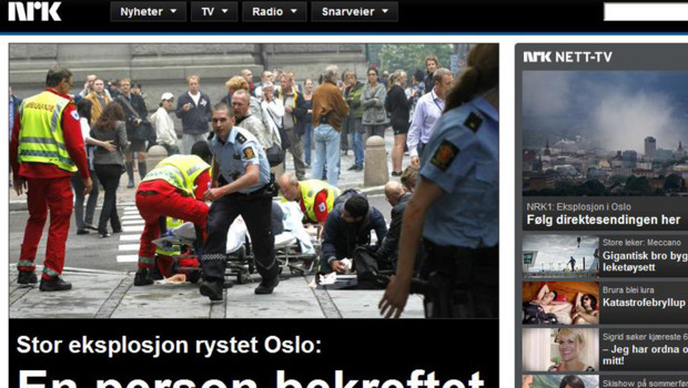 nrk explosion Oslo