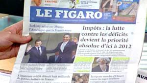 Une du Figaro (26 juillet 2008)