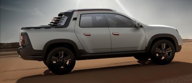 renault duster pick up 2016 2015 best auto reviews. Black Bedroom Furniture Sets. Home Design Ideas